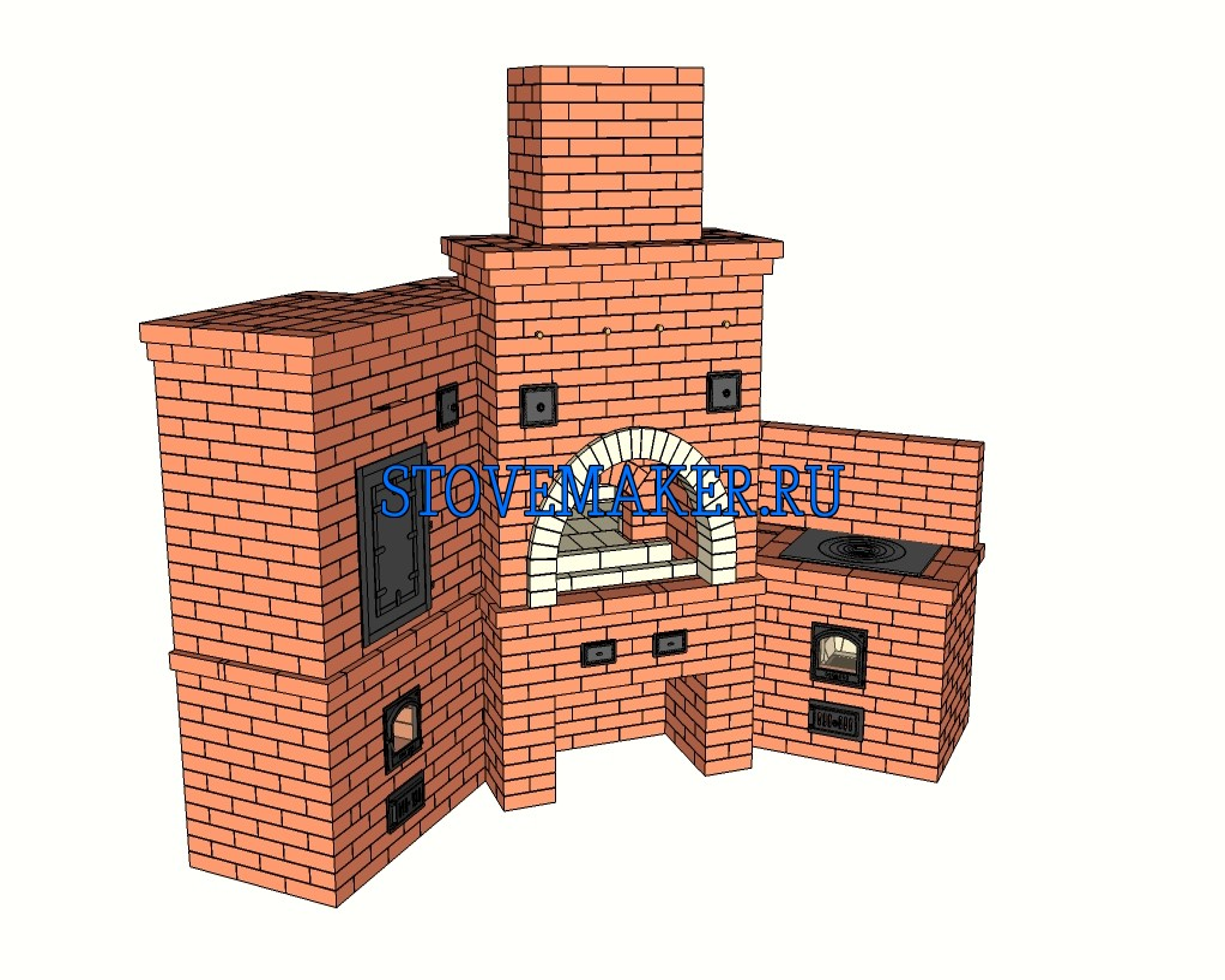 Барбекю-мангал проект камины электрические в краснодаре цены